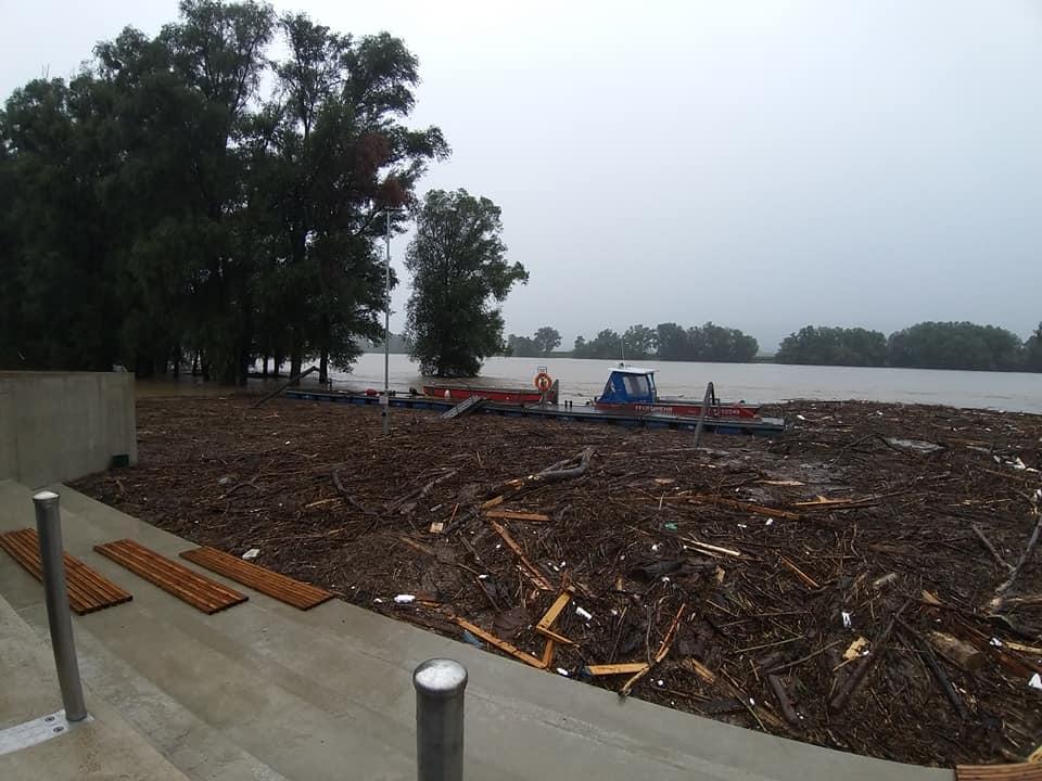 Hochwassereinsatz Sarling/Säusenstein 19.07.2021