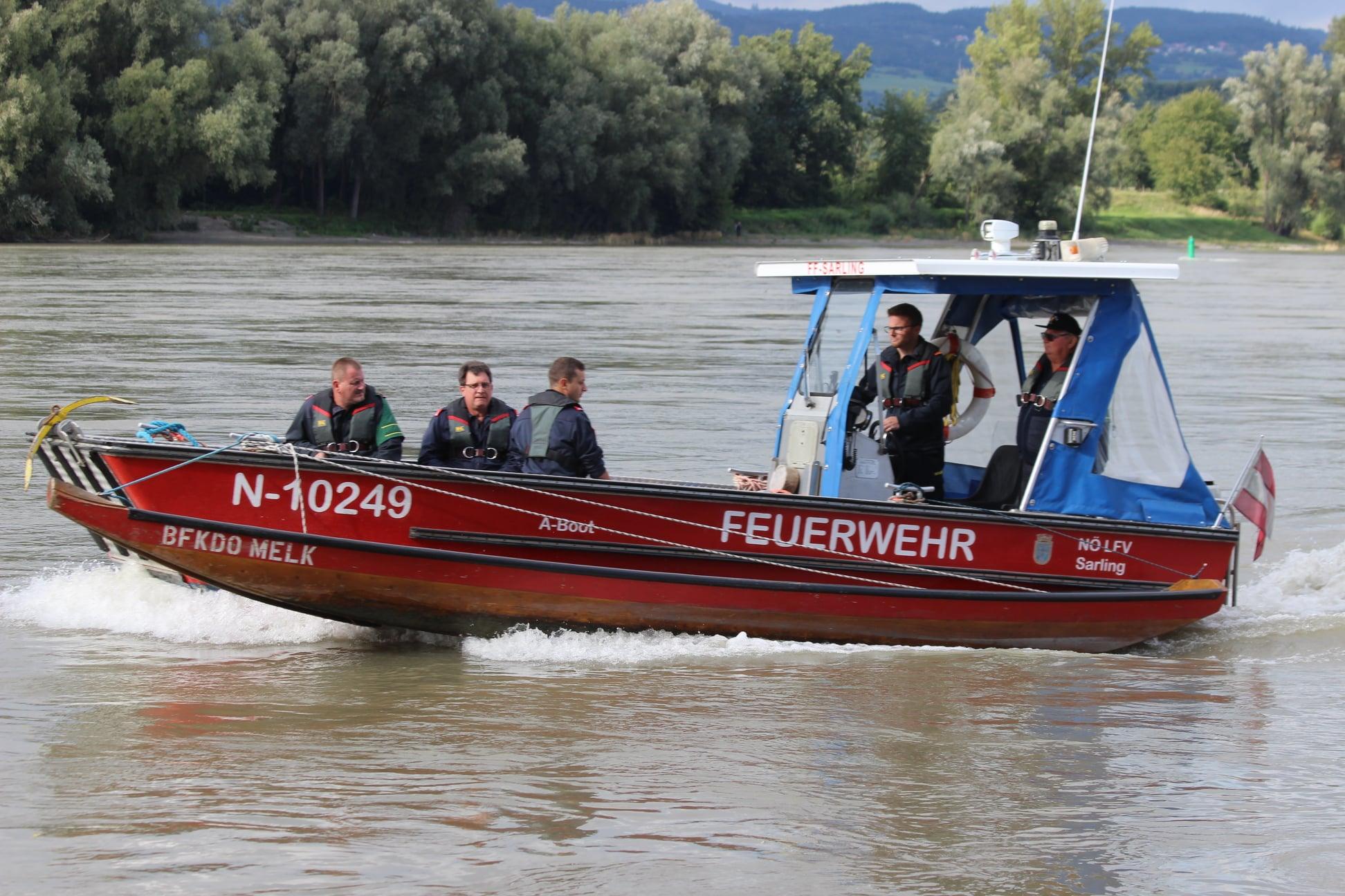 Ausbildungsprüfung Feuerwehrboot Gold