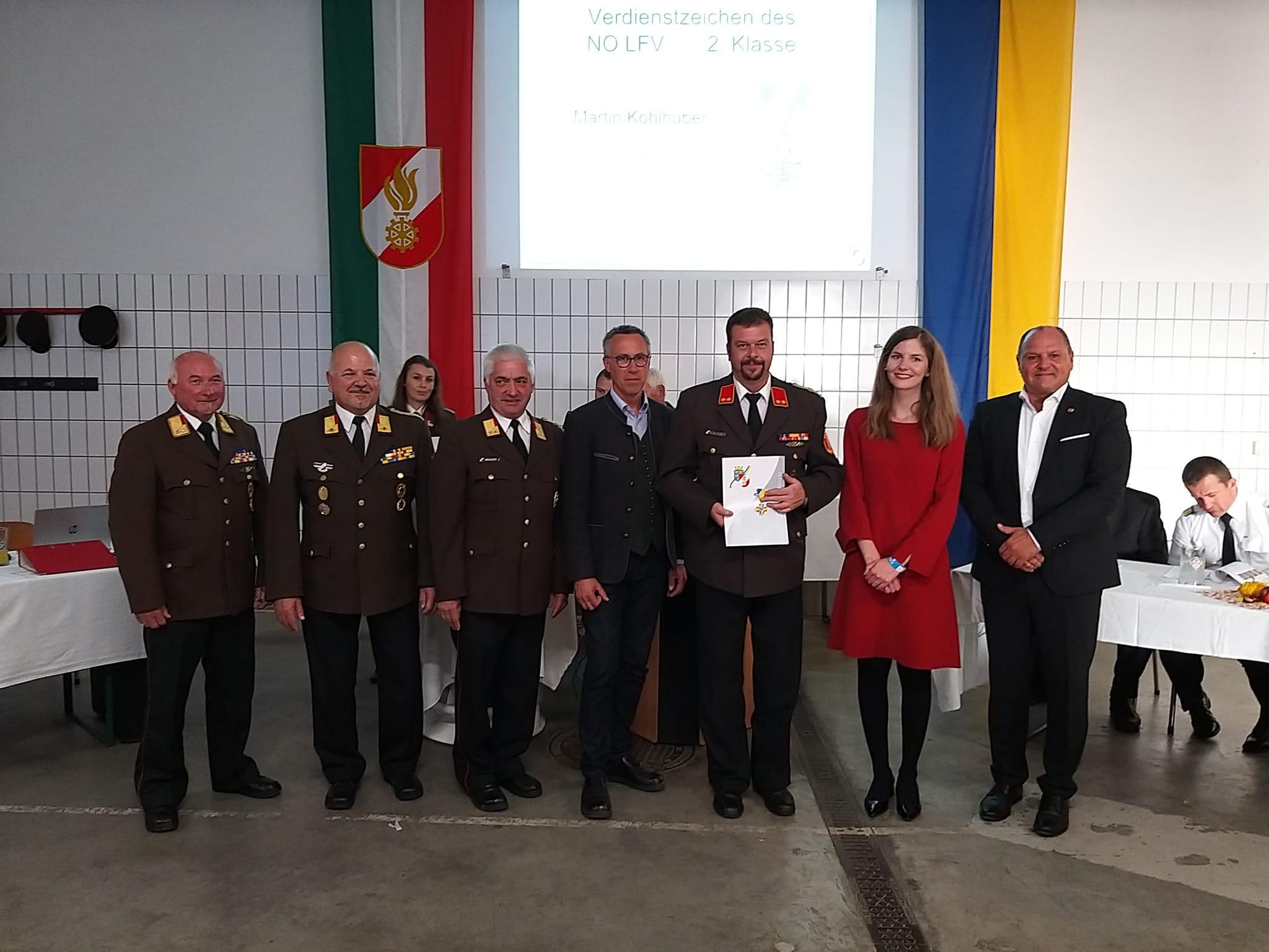 Abschnittsfeuerwehrtag 2021 in Blindenmarkt